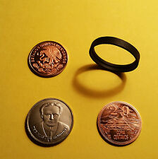 Scotch and Soda Centavo Houdini Coin Magic Trick Set - Easy & Amazing Illusion