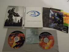 Halo 2 Limited Collector's Edition Original XBOX Game Complete with Manual