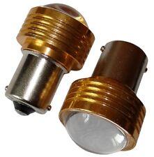 2x Ampoules 24V P21W R10W R5W LED HIGH POWER 3W blanc pour camion semi-remorque