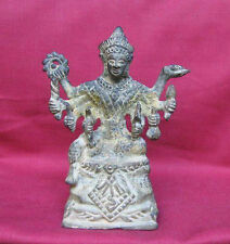 ANTIQUE---SOUTHEAST ASIA---LORD VISHNU WITH EIGHT ARMS