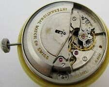 IWC 8521 calendar automatic watch movement & dial