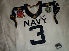Robinson 2012 Navy vs Army Naval Academy Midshipmen Nike Authentic Game Jersey