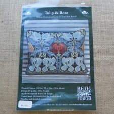 Needlepoint Kit Beth Russell Tulip & Rose Appleton Wool Canvas Kit