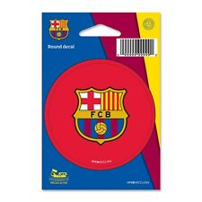 "Soccer International Club  FC Barcelona 3"" Round Decal Sticker By Wincraft"