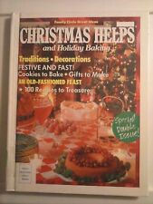 Family Circle's Christmas Helps and Holiday Baking 1990 Hardcover Good Condition