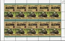 1913 West Side Lumber Company (WSLCo) Shay Class 60-3 No.15 Train 20-Stamp Sheet