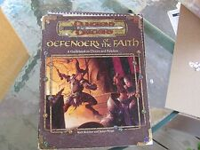 AD&D Dungeon & Dragons Defenders of the Faith Guidebook Clerics Paladins