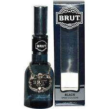 Brut Black Special Reserve by Faberge Cologne Spray 3 oz Glass Bottle