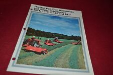 Hesston 1014 1010 PT-7 PT-10 Haybine Mower Conditioner Dealer's Brochure DCPA5