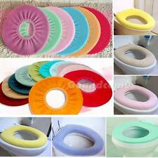 1x Random Color Warmer Toilet Closestool Washable Soft Seat Cover Pads X5RP