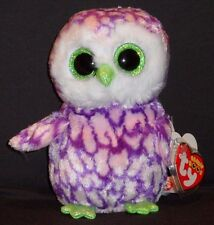 """TY BEANIE BOOS BOO'S - PIPPER the 6"""" OWL - CLAIRE'S EXCLUSIVE - MINT w/ MINT TAG"""