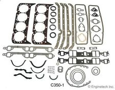 SBC 262 267 305  CHEVY ENGINE TECH FULL GASKET SET