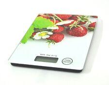 Bilancia Elettronica Da Cucina Digitale Pesa Alimenti Max 5kg Fantasia hsb