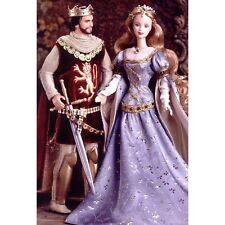 RAR!!Barbie Collector Set King Arthur and Queen Guinevra  NRFB
