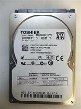 "Laptop Internal Hard Drive Toshiba MK5056GSYF 500GB SATA 2.5"" HDD"