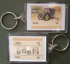 1910 OLDSMOBILE LIMITED Car Stamp Keyring (Auto 100 Automobile)
