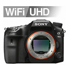 "Sony Alpha A99II Digital SLR Camera 42.4MP 3"" LCD Only Body Full Frame Image"