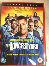 Adam Sandler Chris Rock LONGEST YARD ~ 2005 Prison Sports Comedy | Rental UK DVD