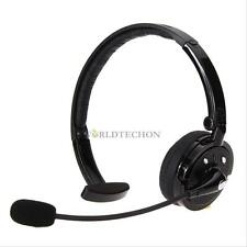 Noise Cancelling Wireless Bluetooth Handsfree Boom Mic Headset Headphone Driver
