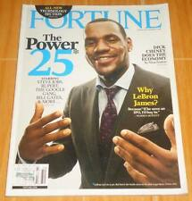 LEBRON JAMES FORTUNE POWER ISSUE VOL. 156 NO. 12 DEC. '07 COLLECTIBLE MAGAZINE