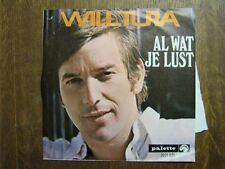 WILL TURA 45 TOURS BELGIQUE AL WAT JE LUST