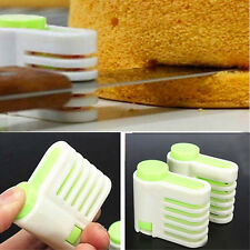 Cake Separator Bread Cutter Slicer Cutting Fixator Kitchen Baking Pastry Tool