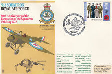 RAF3a No 3 Sqn 60th Anniv Formation of the Sqn Flown in Harrier & Beaver