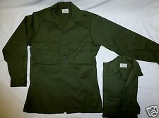(2) Vintage Military OG 507 (Durable Press) Utility Shirt 14-1/2x31 New SELMA