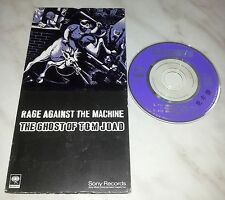 "CD RAGE AGAINST THE MACHINE - THE GHOST OF TOM JOAD - SRVM 1531 - JAPAN 3"" INCH"