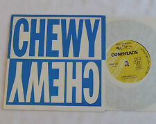 "The CONEHEADS Chewy chewy AUSTRALIA Orig 7"" EP w/PS GREASY POP Rds(1987)EX/MINT"