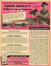 1951 vintage ad for Super Quality 11-22 Pullet Growing Program  -032412