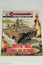 Commando Comic Number 2093, With all Guns Blazing