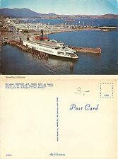 USA - Ferryboat Berkeley with Trade Fair on board - Sausalito, Cal. (S-L XX281)