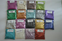 50g BAGS OF FINE GLITTER FOR CRAFTS,FLORISTRY,NAIL ART, METALLIC,IRIDESCENT