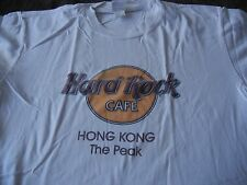 Hard Rock Cafe Hong Kong The Peak Classic Shirt T-Shirt Men Size Large
