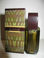 RARE FIRST EDITION OLD FORMULA QUORUM EAU DE TOILETTE PUIG FOR MEN HOMME UOMO