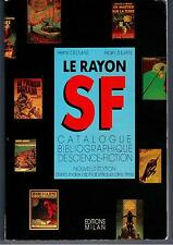 """LE RAYON S.-F."" H. DELMAS & A. JULIAN (1985) CATALOGUE DE LA SCIENCE-FICTION..."