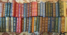 Easton Press LIBRARY OF THE PRESIDENTS collection in 49 volumes
