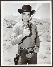 RORY CALHOUN w. smoking revolver THE HIRED GUN Vintage Orig Photo western