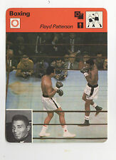1977 Sportscaster Muhammad Ali Versus Floyd Patterson Boxing Card #18-13 NM