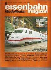eisenbahn Modellbahn magazin 8 August 1995 - FEHLERHAFT