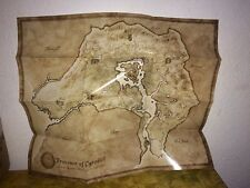 "The Elder Scrolls IV 4 Oblivion Province Of Cyrodil World Map Poster NEW 21""x17"""