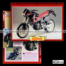 #077.04 Fiche Moto GILERA 600 NORDWEST 1990-1994 Supermotard Motorcycle Card