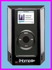 * iHome2go iPOD NANO iHM1 Speakers with SRS TruBass + WR Case iHome iHM1B NEW *