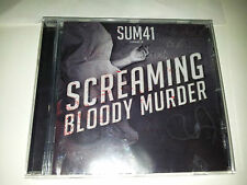 cd musica SUM 41 screaming bloody murder