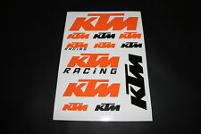 KTM Aufkleber Sticker Decal Bomb Racing Exc Cross Decal Bapperl Kleber Logo