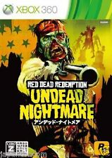 Used Xbox 360 Red Dead Redemption MICROSOFT JAPAN JAPANESE JAPONAIS IMPORT