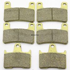 Front Rear Brake Pads For Suzuki GSXR 600 K4/K5/ XK5 Radial Caliper 2004-2005