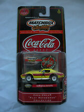 Matchbox Collectibles Coca Cola 1999 Play Refreshed 1979 Chevy Corvette