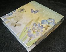 Carol Wilson Stationery Memo Pad Notepad Pen 150 Sheets Dragonfly Butterfly Iris